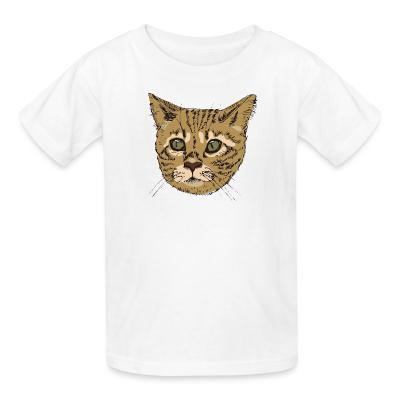 Kid tshirt Bengal Cat