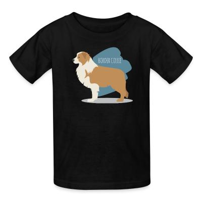 Kid tshirt Border Collie