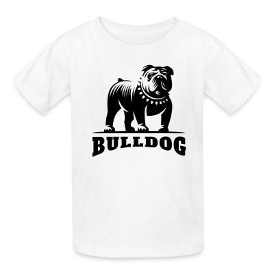 Kid tshirt bulldog