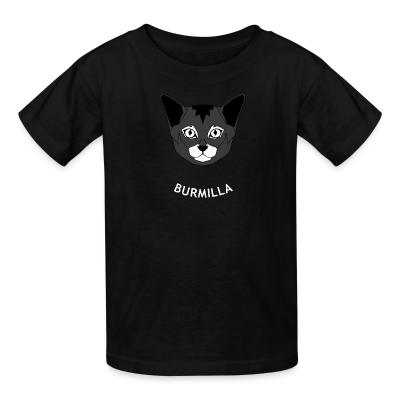 Kid tshirt Burmilla Cat
