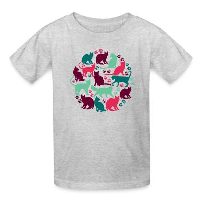 Kid tshirt CAt Cats
