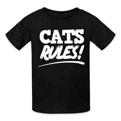 Cats Lovers Kids t-shirt