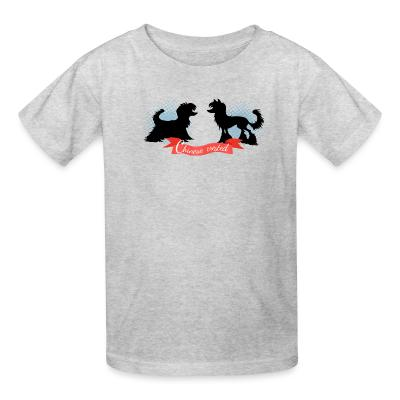 Kid tshirt Chinese Crested