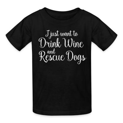 Dogs Lovers Kids t-shirt