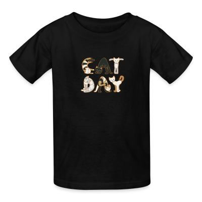 Kid tshirt Eat day