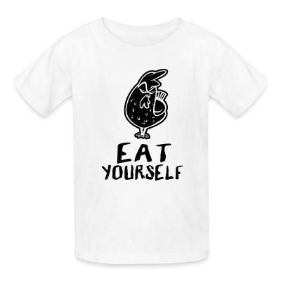 Kid tshirt eat yourself