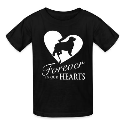 Kid tshirt Forever in our hearts