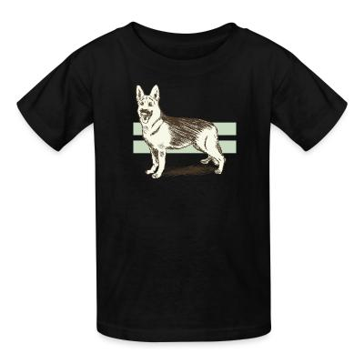 Kid tshirt German Shepherd Dog