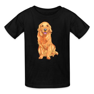 Kid tshirt Golden Retriever