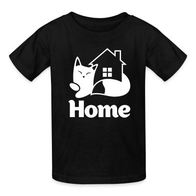 Kid tshirt Home