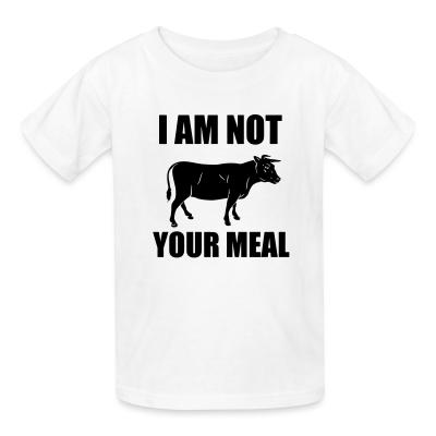 Kid tshirt I am not your meal
