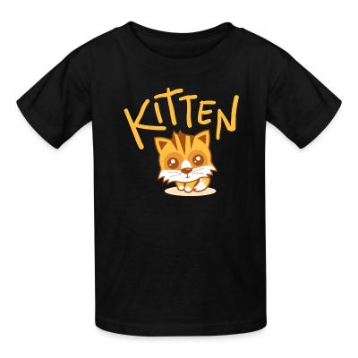 Kid tshirt Kitten