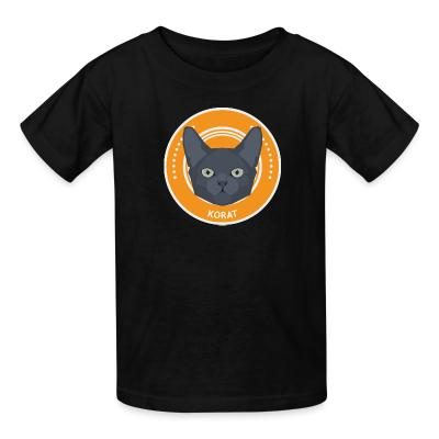 Kid tshirt Korat Cat
