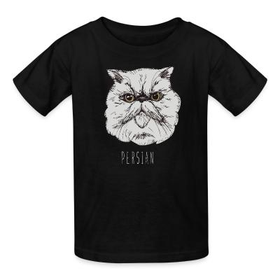 Kid tshirt Persian Cat