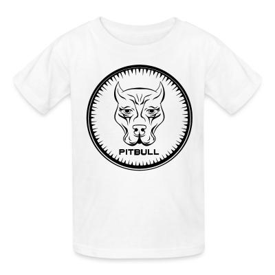 Kid tshirt Pitbull