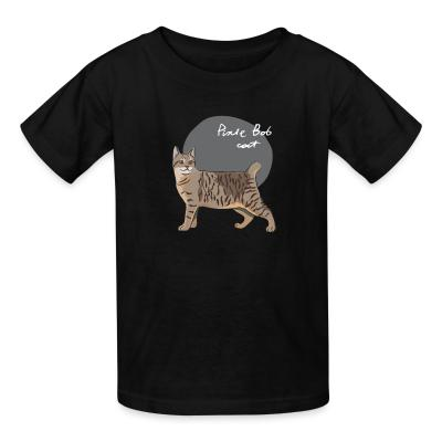 Kid tshirt Pixie-Bob Cat