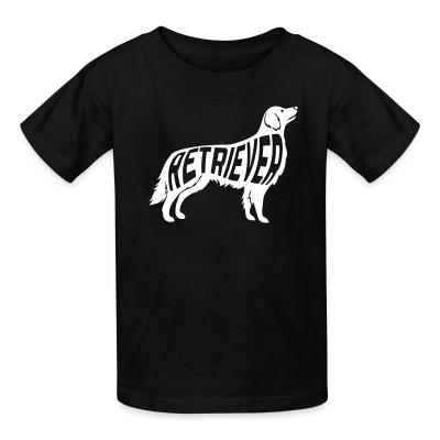 Kid tshirt Retriever