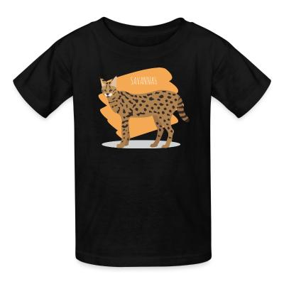 Kid tshirt Savannah Cat
