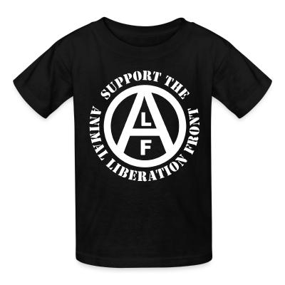 Kid tshirt Support the Animal Liberation Front (ALF)