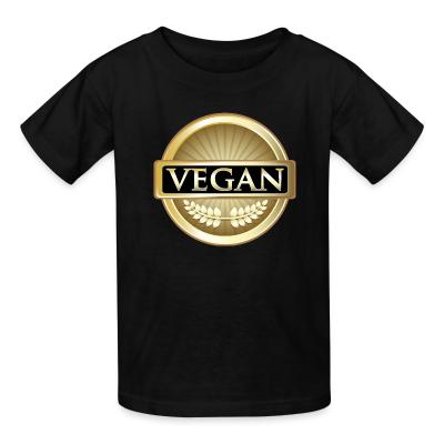 Kid tshirt Vegan