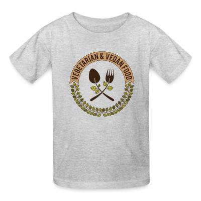 Kid tshirt Vegetarian & Vegan food
