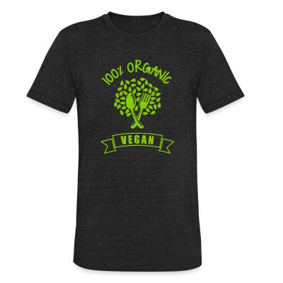 Local T-shirt 100% organic Vegan