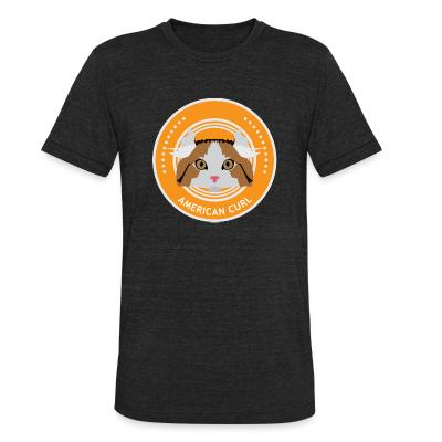 Local T-shirt American Curl Cat