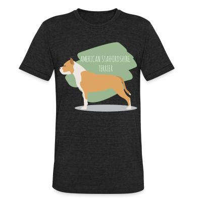 Local T-shirt American staffordshire terrier