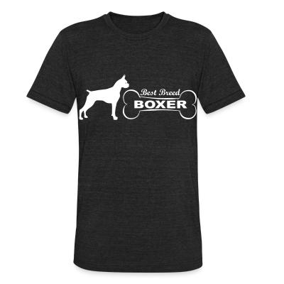 Local T-shirt best breed boxer