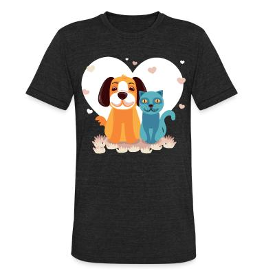 Local T-shirt Cat and Dog