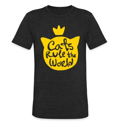 Local T-shirt Cats rule the world