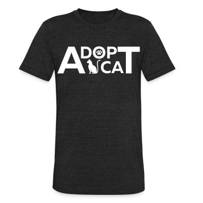 Local T-shirt dopt cat