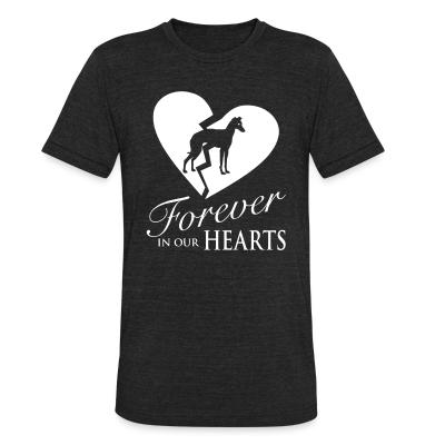 Local T-shirt forever in your hearts greyhound