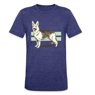 Local T-shirt German Shepherd Dog