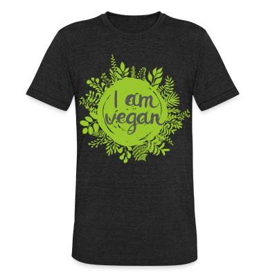 Local T-shirt I am vegan