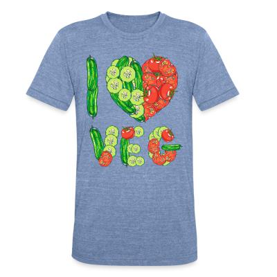 Local T-shirt I love veg