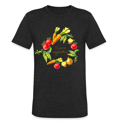 Local T-shirt I love vegetables