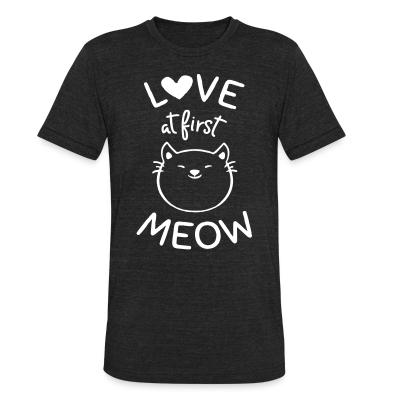 Local T-shirt Love at first meow