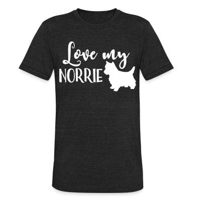 Local T-shirt Love my norrie
