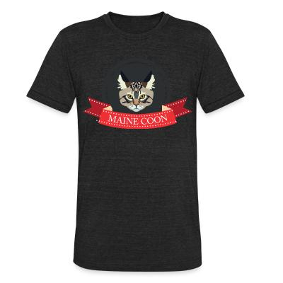 Local T-shirt Maine Coon Cat