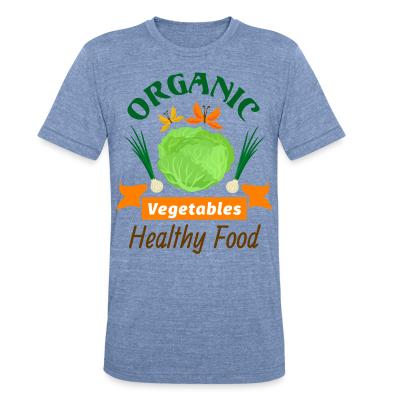 Local T-shirt oganic vegetables healty food
