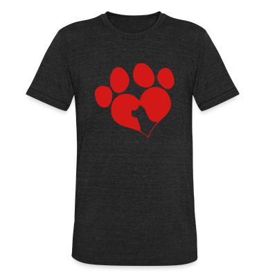 Local T-shirt paw