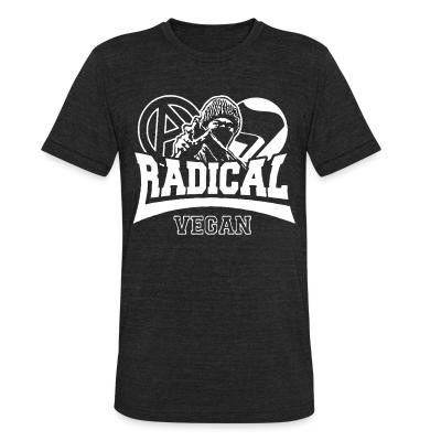 Local T-shirt Radical vegan