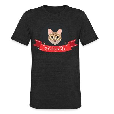 Local T-shirt Savannah Cat