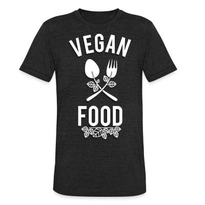 Local T-shirt Vegan food