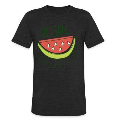 Local T-shirt Vegan healthy food
