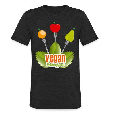 Local T-shirt Vegan Healty food