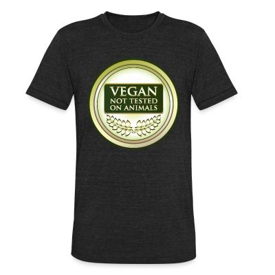 Local T-shirt Vegan not tested on animals