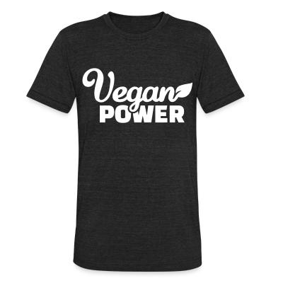 Local T-shirt Vegan  power