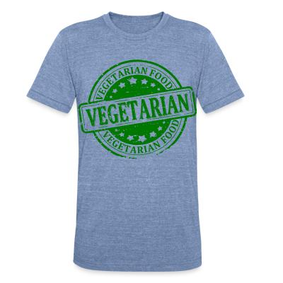 Local T-shirt Vegetarian food